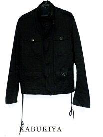 DiorHomme ディオール オムアウター ジャケット サイズ48 ジップ カジュアル ミリタリー ブラック 黒 メンズ人気ブランド【中古】17-6753Sh