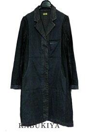 Maison Margiela メゾンマルジェラジャケット コート アウター サイズ38 ステンカラー コート フォーマル ビジネス ブラック 黒 ジップメンズ 人気ブランド【中古】17-9856Sh