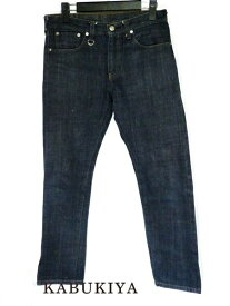 uniform experiment ユニフォームエクスペリメントデニム ジーパン サイズ30 カジュアル インディゴ ブルー 青 メンズ・レディース 人気ブランド【中古】18-4265Sh