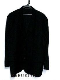 COMME des GARCONS コムデギャルソンテーラードジャケット アウター サイズL カジュアル ドメスティック モード クラシカル ブラック 黒 メンズ 人気ブランド【中古】7-2187Sh