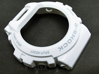 "CASIO Casio g-shock DW-6900 for genuine bezel case replacement for drivers with parts white (grey logo part) white custom dress-up parts G shock ""popular watch brands still used DW6900-P-WHTMT"
