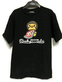 A Bathing Ape ベイシングエイプ Tシャツ ブラック系 メンズ 人気ブランド【中古】 17-17291KJ