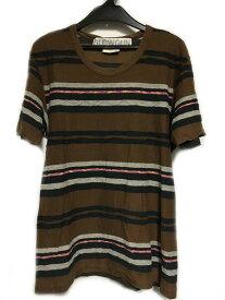 SLOWGUN スロウガン Tシャツ 茶色 ブラウン系 メンズ 人気ブランド【中古】 19-21979KJ
