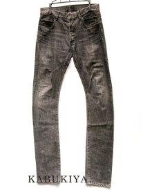 BALMAIN バルマン デニムパンツ サイズ28 ブラック 黒 ズボン ジーンズ ジーパン ボトムス 衣類 アパレル ファッション メンズ 人気ブランド【中古】xx17-8227MT