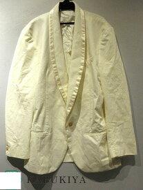Maison Margielaマルタンマルジェラジャケット ホワイト 白上着 52 メンズ 人気ブランド【中古】xx17-33806ok