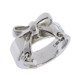 ◆ クリスチャン・ディオール Christian Dior リング シルバー サイズ5 約9.5号 【中古】