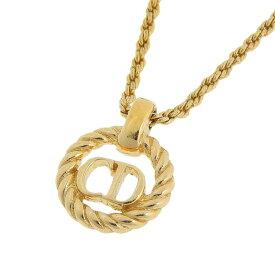 ◆ 良品 クリスチャン・ディオール Christian Dior ネックレス ゴールド 【中古】