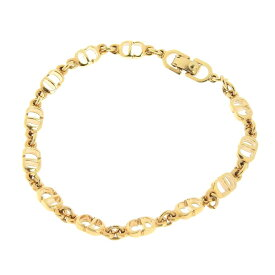 ◆ 良品 クリスチャン・ディオール Christian Dior ブレスレット ゴールド 【中古】