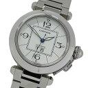 ◆カルティエ Cartier 時計 W31055M7 パシャC ビッグデイト 自動巻き AT ボーイズ 磨き済み 【中古】