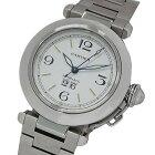 ◆カルティエ Cartier 時計 W31044M7 パシャC ビッグデイト 自動巻き AT ボーイズ 磨き済み 【中古】