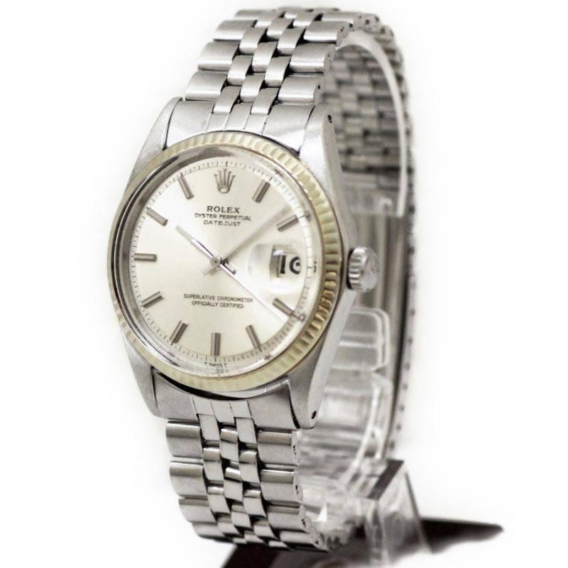 ロレックス デイトジャスト 腕時計 25番台 SS AT 1601 【中古】