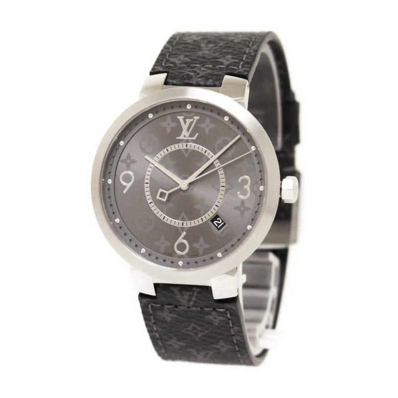 ルイ・ヴィトン タンブール スリム エクリプス GM 腕時計 Q1DM00【新品・未使用品】