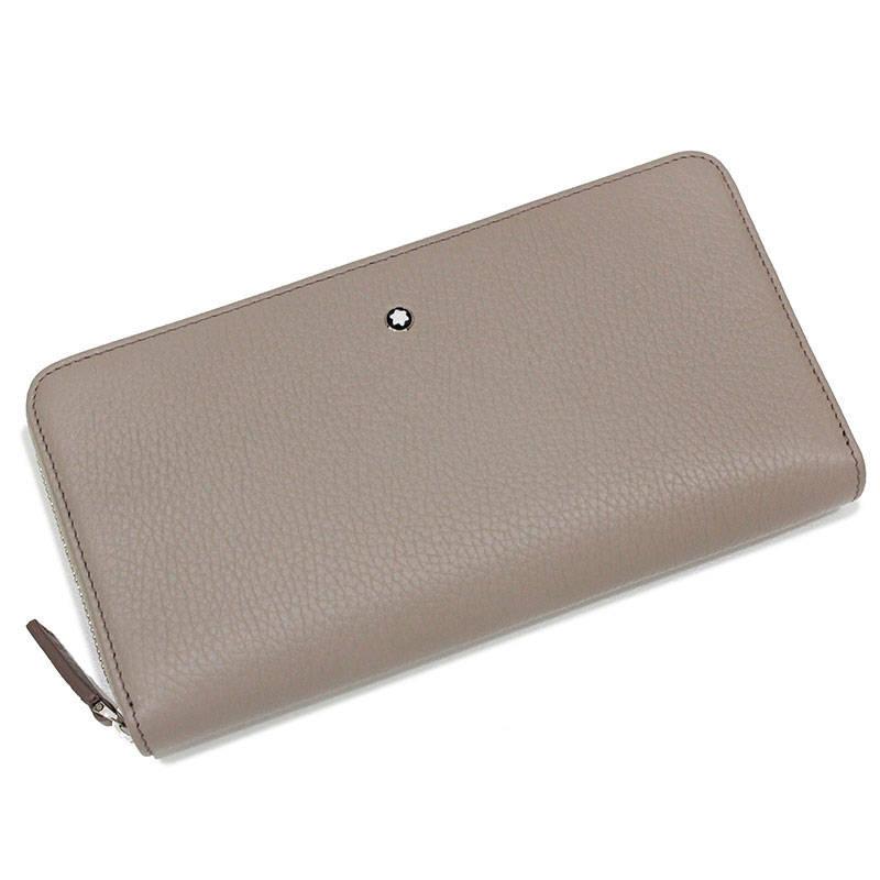 モンブラン マイスターシュテュック ソフトグレイン ウォレット 8cc ジップ 財布 111218 【新品・未使用品】