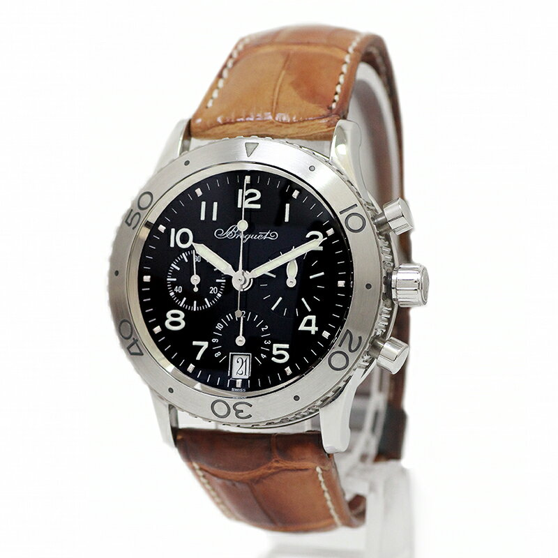 ブレゲ タイプXX トランスアトランティック クロノ AT メンズ 腕時計 3820ST-H2-9W6 【美品】