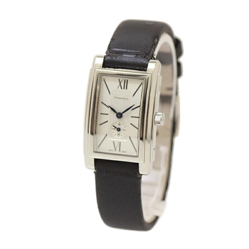 ティファニー グランド レディース 腕時計 Z0030-13-10A21A40A-C 訳あり 【未使用 新品同様】