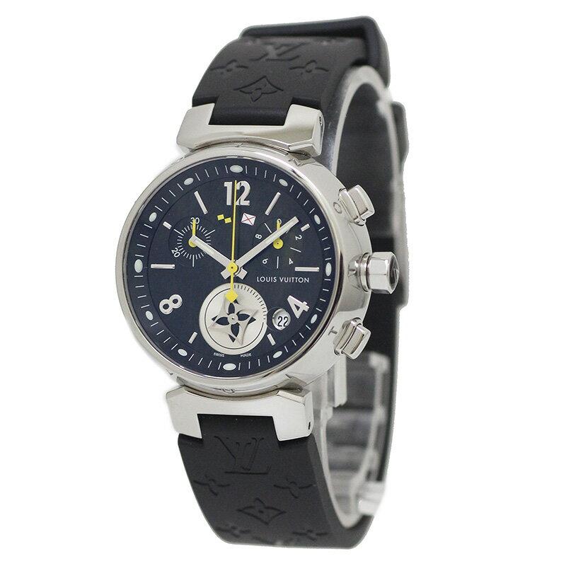 ルイ・ヴィトン タンブール MM ラブリーカップ クロノグラフ 腕時計 Q132G 【未使用 展示品】