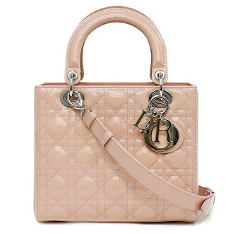 493a3aa4 With Christian Dior patent leather lady Dior pink VRB44551 box