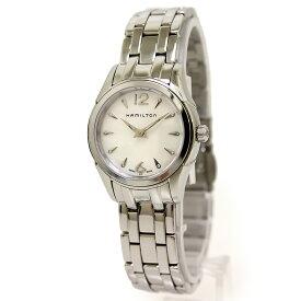 fb1f7a29ae ハミルトン ジャズマスター レディ シェル 10Pダイヤ クォーツ レディース 腕時計 H32261197 箱付【新品・