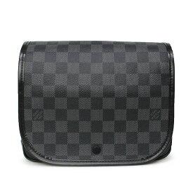 【新品・未使用】ルイ・ヴィトン ダミエ・グラフィット トゥルース・サスペンダブル セカンドバッグ N41419 メンズ