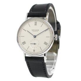 【中古】ノモス ラドウィッグ 201 手巻き 腕時計 LD1A2W1 メンズ レディース 箱付