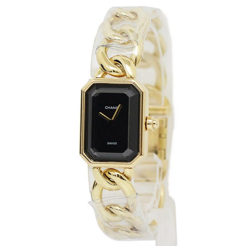 シャネル プルミエール レディース 腕時計 K18YG H0003-XL(美品)