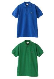 ラコステLACOSTEポロシャツメンズ半袖ポロシャツL1212L12.12ボーイズ半袖鹿の子ClassicFitクラシックレディースユニセックス