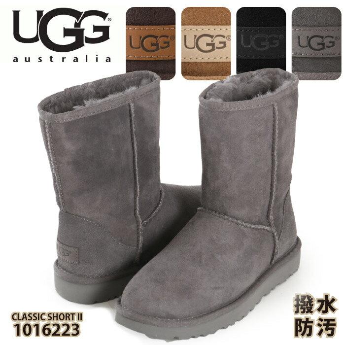 UGG アグ ブーツ レディース ムートンブーツ クラシック ショート II ブーツ ムートン クラシックショート オーストラリア 靴 シューズ CLASSIC SHORT II 2018 新作 AUSTRALIA 5825 送料無料 1016223