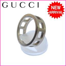 古馳戒指/環Gucci銀子E364s