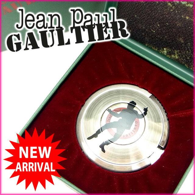 【中古】 ジャンポール・ゴルチェ Jean Paul Gaultier ライター /レディースメンズ可 UFOライター BBシルエット(男) シルバー メタル (あす楽対応)(奇跡的入荷・中古) Y534 .