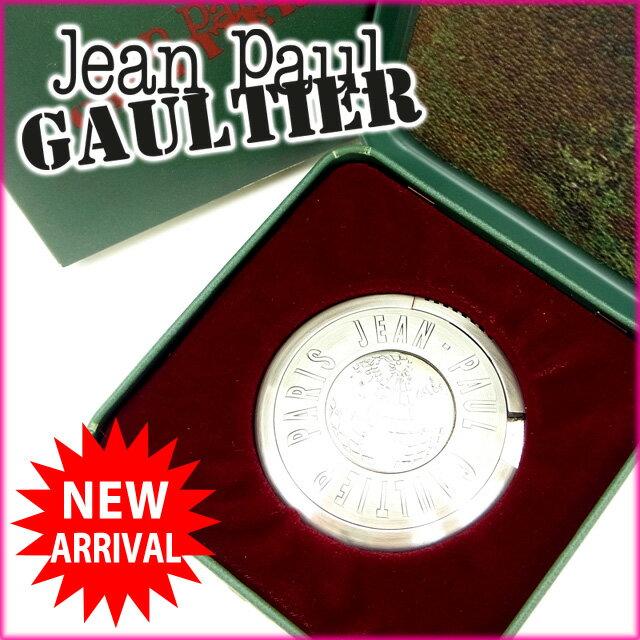 【中古】 ジャンポール・ゴルチェ Jean Paul Gaultier ライター シルバー UFOライター GB地図 レディース Y537s .