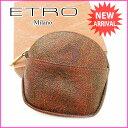 エトロ ETRO コインケース メンズ可 PVC×レザー 【中古】 J7349