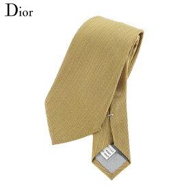 【スーパーSALE】 【20%オフ】 【中古】 ディオール オム Dior homme ネクタイ メンズ ゴールド 【ディオール】 I536