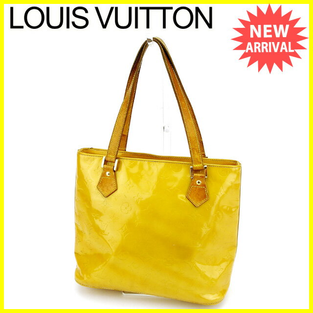 【お買い物マラソン】 【中古】 ルイ ヴィトン トートバッグ ショルダーバッグ バッグ Louis Vuitton イエロー B910s