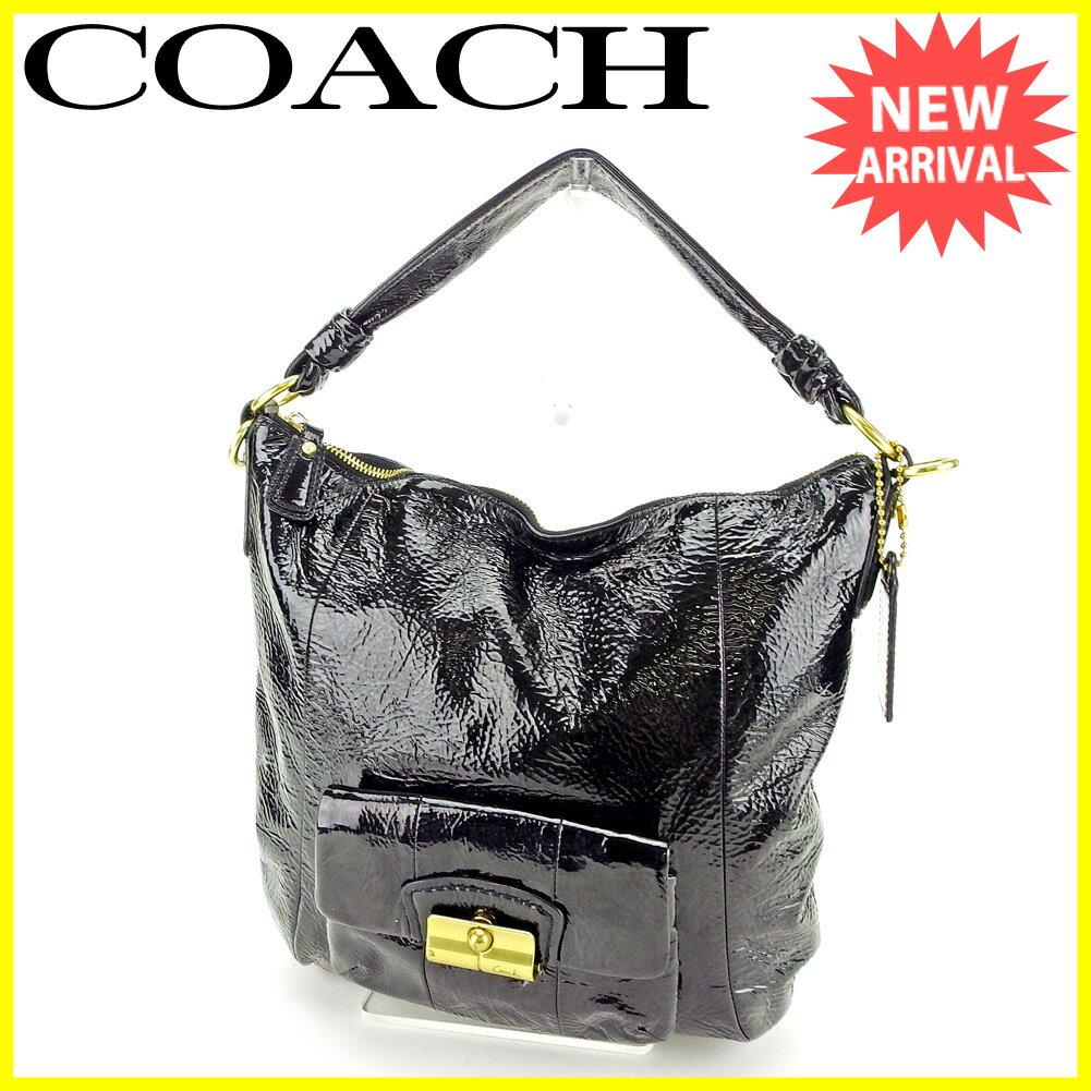 【中古】 コーチ ハンドバッグ ワンショルダー バッグ Coach ブラック C2946s .