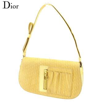 Dior Dior手提包派對包女士D chamutorottaierogorudosuedo×珐琅皮革人氣促銷E1251。