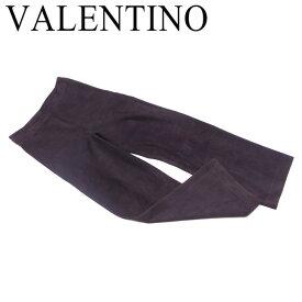【スーパーセール】 【20%オフ】 【中古】 ヴァレンティノ VALENTINO パンツ セミワイド レディース ブラウン AGNELLO 100% T11886