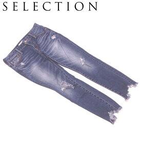 【お買い物マラソン】 【クーポン対象】 【中古】 セレクション SELECTION ジーンズ スカート レディース ショートパンツ T7855