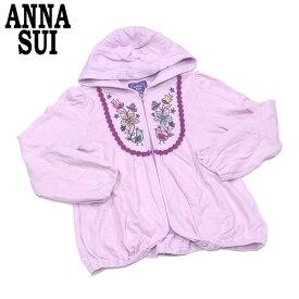 【中古】 アナスイ ミニ ANNA SUI mini パーカー ショートパンツ ガールズ レディース スカート風パンツ T7881