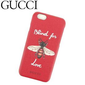 ac86f69b98 【中古】 グッチ GUCCI iPhone 6 ケース アイフォン6ケース レディース 蜂 ビー レッド ホワイト