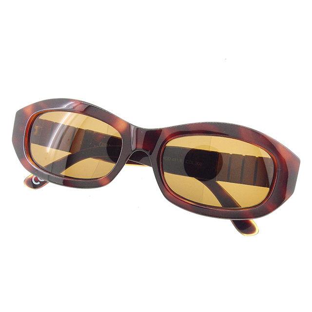 【中古】 ヴェルサーチ サングラス アイウエア Versace ブラウン×ゴールド A1411s