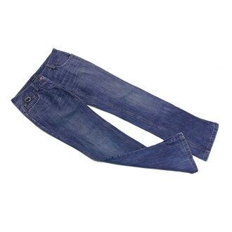 Denim Lady's B936s with the Dolce & Gabbana Dolce & Gabbana jeans hem side button underwear wash blue ♯ 36 size D perception.