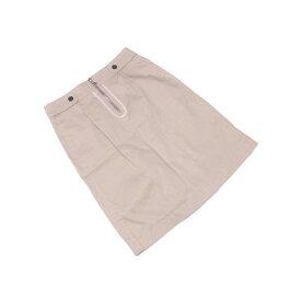 【中古】 ルイヴィトン Louis Vuitton スカート 後タック入り レディース ♯38サイズ ベージュ×ブラック C1850 .