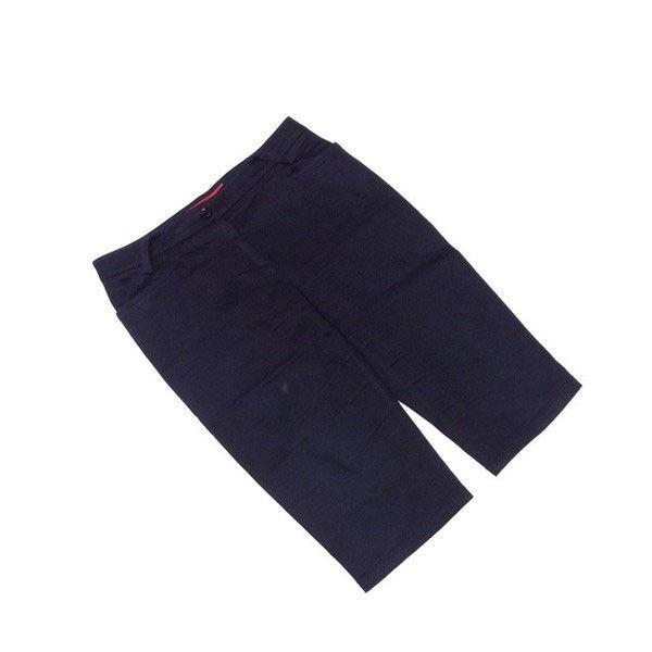 【中古】 ドルチェ&ガッバーナ Dolce & Gabbana パンツ ブラック ♯24-38サイズ クロップド丈 レディース C2992s