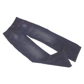 【中古】 リプレイ Replay ジーンズ ブーツカット パンツ ウォッシュネイビー ♯26サイズ センタープレス デニム レディース C3018s .