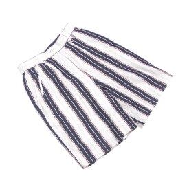 【中古】 クリスチャンディオールスポーツ Christian Dior Sports パンツ ハーフ レディース ♯Mサイズ ホワイト×ネイビー系 G946