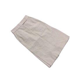 【中古】 ルイヴィトン Louis Vuitton スカート ロング丈 レディース ♯38サイズ ベージュ L2082 .