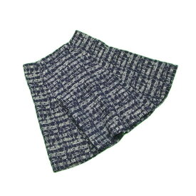 【中古】 アンテプリマ ANTEPRIMA スカート レディース ♯40サイズ グリーン×ブラック ポリエステル 93%アクリル 7%(裏地)ポリエステル 100% L2172