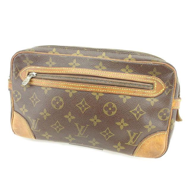 【中古】 ルイ ヴィトン セカンドバッグ ポーチ Louis Vuitton ブラウン N497s