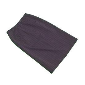 【中古】 ジバンシィ GIVENCHY スカート タイト レディース ♯40サイズ ブラウン×ブラック ウール 90%ポリエステル 10%(裏地)キュプラ 100% Q296