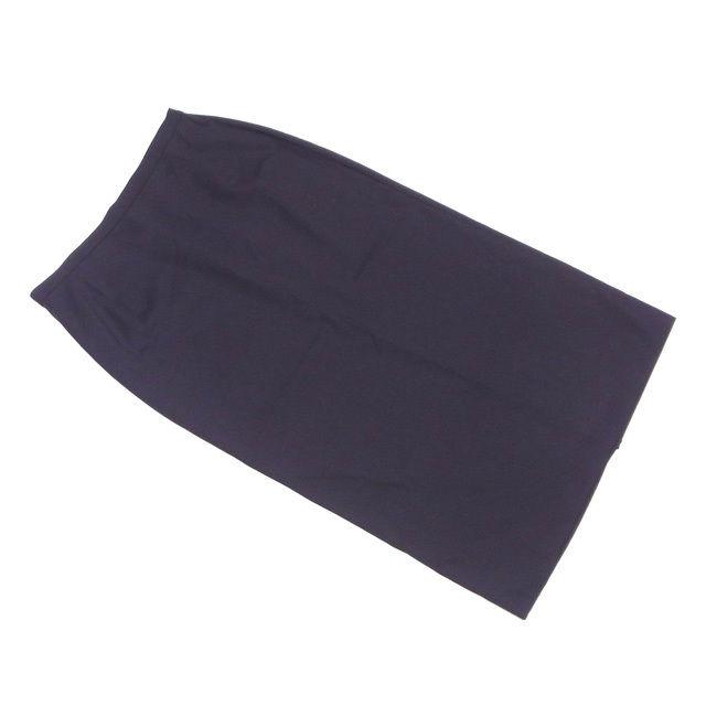 【中古】 ドルチェ&ガッバーナ スカート 後スリット入り ロング Dolce & Gabbana ブラック T2457s